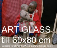 'Baron Eckhardt Safaris' framed 63x78cm